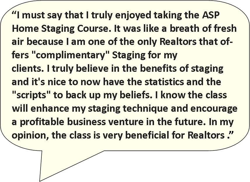First Realtor quote